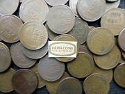 Lot Of 1000 Lincoln Wheat Cent Mixed Common Dates From 1930 To 1958 - B75