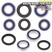 Combo-pack Front Wheel And Rear Axle Bearings And Seals Kit Suzuki Lt250r
