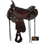 1750-1601-05 Circle Y Julie Goodnight Wind River Trail Saddle 16 Inch Wide Tree
