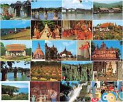 Postcard Thailand Bangkok Buddhist Monks Rite Ethnic Types And Scenes -sold Singly