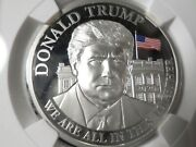 2020 Trump Silver Coin Cameroon S1000f Pf70 Ngc