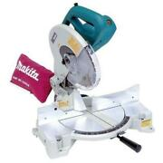 Makita Compact Compound Miter Saw Corded 40t Carbide Blade Dust Bag 15 Amp 10