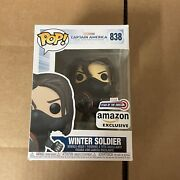 Funko Pop Marvel The Winter Soldier Year Of The Shield In Hand