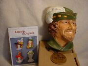 Robin Hood Legends Of England F Wright Bossons Chalkware Last One. New Old Stock