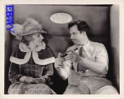 Director King Vidor Shows Pistol To Kay Johnson Billy The Kid Vintage Photo