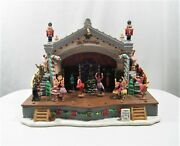 2010 Lemax Village Collection Nutcracker Suite Ballet Musical Animated Retired