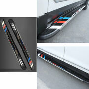 For Cadillac Xt6 2019-2021 Black Sports Running Board Side Step Nerf Bar Pedal