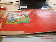Vintage 1949 Milton Bradley Uncle Wiggly Game.box,board And Cards.incomplete