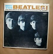 The Beatles Meet The Beatles Capitol Mono T 2047 Still Sealed In Orig Shrink