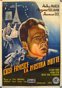 So Ends Our Night / Glenn Ford / 1941 / John Cromwell / Movie Poster/61