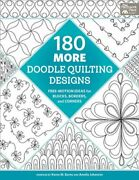 180 More Doodle Quilting Designs Free-motion Ideas For Blocks Borders And