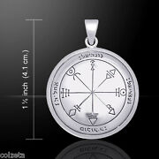 First Pentacle Of Venus By Peter Stone. Sterling Silver Seals Of Solomon