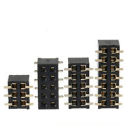 Pin Header 2.54mm Pcb Connector Female Header Socket Double Row Connector 2-40p