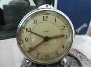 Smiths Wind-up Vintage Alarm Clock Made In England C1960and039s-rare