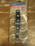 Attwood Strap Hinge 66204-3-3 Pair 6in Cast Stainless Steel Free Shipping