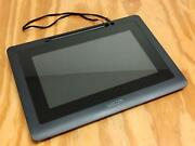 """Wacom Dtu-1031x 10.1"""" Usb Lcd Graphics With Pen Stylus Tablet Tested"""