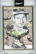 Ted Williams Topps Project 2020 Gold Frame Original Card No. 158 1/1