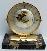 Rare Imexal 1950and039s 8 Day World Time Clock