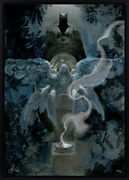 Dc-sideshow Collectibles-the Birth Of Batman By Allen Williams-giclandeacutee On Canvas.