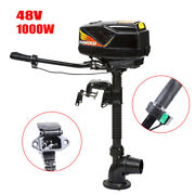 1000w 48v Heavy Duty Outboard Motor Electric Brushless Fishing Boat Engine
