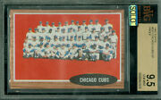 1962 Topps Loa 552 Chicago Cubs Sp Proof Bgs 9.5 Mac Solo Finest Grade