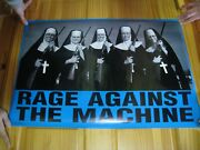 Rage Against The Machine Poster Nuns With Guns R.a.t.m.