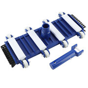 Pool Cleaning Brushes Vacuum Head Efficient For Swimming Pool For Water Parks Hg