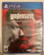 Wolfenstein Alt History Collection - Sony Playstation 4 Ps4 - New And Sealed