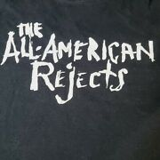 Vtg The All American Rejects T Shirts Jerzees Men's Sz Xl