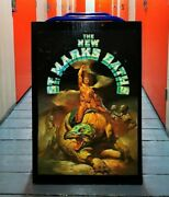 The New St. Marks Baths Offset Lithograph Poster By Boris Vallejo Mounted Sign