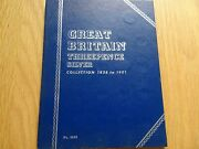 Whitman Folder Victoria Silver Threepences 1838 To 1901 With 46 Coins Britain Uk