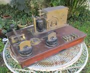 Antique Siemens Bros And Co. London Telegraph Portable Station, Railroad Argentina