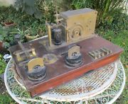 Antique Siemens Bros And Co. London Telegraph Portable Station Railroad Argentina