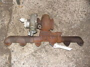 Ih International Farmall Turbo And Exhaust Manifold Dt-466 Truck Tractor