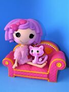 Lalaloopsy Pillow Featherbed Full Size Doll 14 W/couch And Cat Bundle L@@k