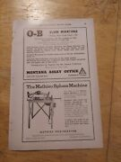 1954 Print Ad-the Mathieu Sphere Machine-ready To Operate With A 1/3 Hp Engine