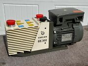 Agilent Varian Ds 302 Ds302 Rotary Vane Vacuum Pump 115 Volts - Works Great