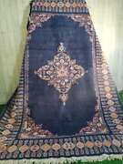 Antique Carpet Faded Blue Luxury Rug High Quality Rug Ziegler Wool Moroccan