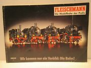 1989 1990 Fleischmann Model Train Catalog Soft Cover 195 Pages Ho And N Gauge