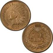 1865 Indian Head Cent Au About Uncirculated Bronze Penny 1c Us Coin Collectible