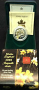 2003 Canada Half Dollar Golden Daffodil Silver And Gold 50 Cent Mint