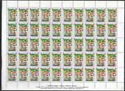 Bulgaria 1997 Europa Stories And Legends 2 Full Sheets Mnh