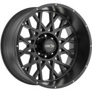 4- 20x12 Black Vision Rocker 412 6x135 -51 Wheels Mud Hog Lt35x12.50r20 Tires