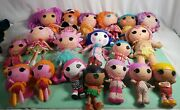 Lalaloopsy Huge Lot Of 19 Full Size Dolls And Baby's