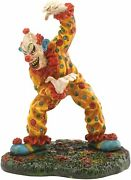 Department 56 Let's Have A Little Fun Clown Halloween Village 4030766 New In Box