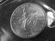 77 - 2001 P New York State Quarters From Mint Sets In Cello Bu