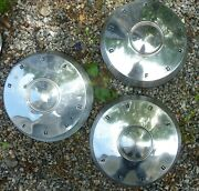 1961 1962 61 62 Ford Dog Dish 10 1/2 Poverty Caps Hubcaps Fairlane Galaxie Oem