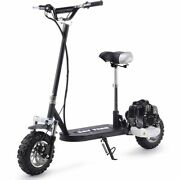 Say Yeah 49cc Gas Scooter 11 Dirt Tires Removable Seat Black Kids Teen Fun Ride