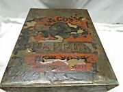 Antique American Country Store Advertising Tin Pepper Canister 19th C As Is