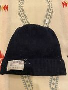 Vintage Wwii Usn Us Navy Wool Watch Cap Name Rate Tag Sailor Work Wear Hat Knit